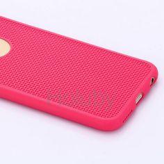 Webtextur weicher TPU Hülle für iPhone 6 6S Rose