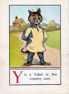 A CAT ALPHABET - Y