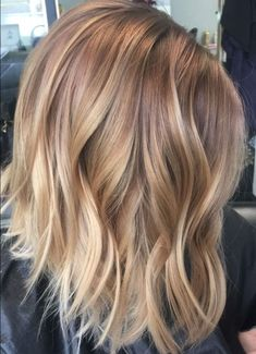 Balayage Caramel Blonde, Gold Blonde Highlights, Beige Blonde Balayage, Hair Color Highlights, Hair Color Balayage, Blonde Color, Blonde Ombre, Balayage Hair Honey, Full Head Highlights