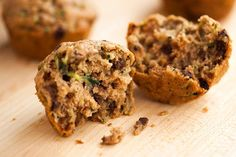 Healthy Hacks: 150-Calorie Chocolate Chip Zucchini Muffins