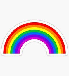 Rainbow Pegatina