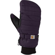 Carhartt Women's Quilts Insulated Breathable Mitt with Waterproof Wicking Insert Best Winter Gloves, Best Gloves, Leather Work Gloves, Insulated Gloves, Vintage Gloves, Cold Weather Gloves, Mitten Gloves, Mittens