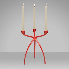 Yuri candle holder - red, from John Lewis. This was look great on the sideboard in my dining room!