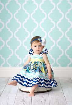 The Sophie flutter dress for girls toddlers babies by amysbuttonsandbows on Etsy https://www.etsy.com/listing/189356191/the-sophie-flutter-dress-for-girls