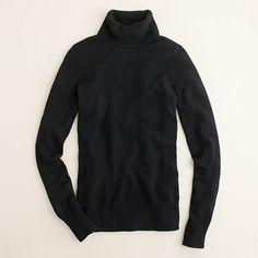 02910e6fa4fb cashmere black turtleneck Schwarzer Kaschmirpullover, Schwarze Rollkragen,  Kaschmir Pullover, J Crew, Mode