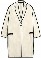 Примеры разработки моделей плащей, пальто-деми на основах рассчитанных в программе Закройщик Dress Patterns, Sewing Patterns, Flat Sketches, Clothing Sketches, Pattern Drafting, Couture, Fashion Sewing, Fashion Flats, Coats For Women