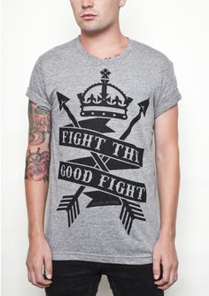 Agape Attire - Fight the good fight - nuff said