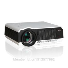264.72$  Buy here - http://ai3d1.worlditems.win/all/product.php?id=32341073455 - Full HD Projector LED LCD 3D Proyector Home Theater Beamer Projektor HDMI/USB/VGA/AV