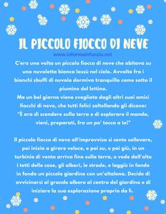 Italian Words, Winter Crafts For Kids, Kids And Parenting, Education, Winter Time, Studying, Kids, Onderwijs, Learning