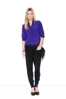 calca tricot listra lateral / Animale e-Store