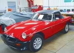 Why yes, I do have a little red MGB.   My husband bought it for me!