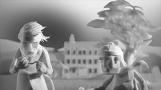 Prequel to the Marilyn Myller stop motion-The Eagleman Stag: A BAFTA Winning Stop Motion Short Film by Mikey Please. stop motion animation