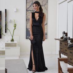 Para ir dormir sonhando com esse vestido de veludo da nova coleção {Dalla + @raizamarinari} ✨✨ #lojadalla #dallaonline #partydress
