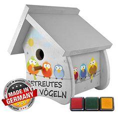 Das Vogelhaus zur Hochzeit - Hochzeitsspiel & Geldgeschenk in Einem - hier kaufen