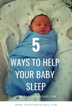 Are you a new sleep deprived parent? Looking for some ways to help baby sleep a bit more? Read my post to find out 5 simple ways to help your baby fall asleep and stay asleep. Help Baby Sleep, Toddler Sleep, Kids Sleep, Bedtime Routine Baby, Baby Sleep Schedule, Sleep Disorders In Children, Sleep Training Methods, Newborn Care, Baby Month By Month