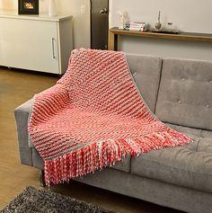 Manta rosa para sofá Premium e Little Sweet
