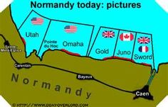 d day map omaha beach