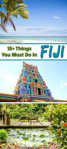 Planning a Fiji vacation? From cruising to a tropical island to visiting local villages, there's no shortage of awesome things to do in Fiji. Family Vacation Destinations, Disney Vacations, Disney Trips, Disney Travel, Travel Destinations, Fiji Travel, Florida Travel, Tropical Islands To Visit, Castaway Island