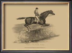 Vintage equestrian prints