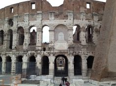 The Colosseum. Amazing sight.