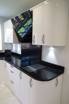 Contemporary Star Galaxy black Granite kitchen worktops with ... on quartz kitchen sinks, designer kitchens ideas, quartz kitchen islands, country kitchens ideas, modern kitchens ideas, quartz bathroom ideas, quartz kitchen business, quartz kitchen tables, quartz kitchen cabinets,