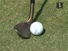 Golf: How to get backspin - Our golf expert Rickard Strongert shows how to reach the tricky pin positions with a crafty backspin shot