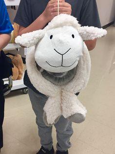 Cute Sheep Pillow Fleece Blanket Sears 754791150b487