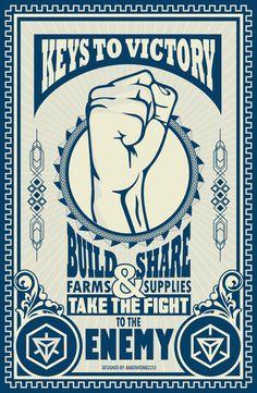 Keys to Victory! Ingress Resistance #ingress