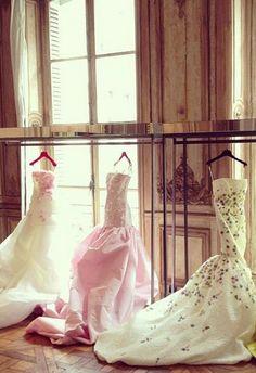 Giambattista Valli Haute Couture F/W 2013 backstage
