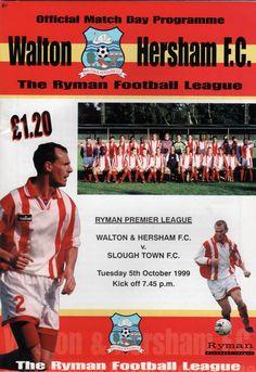 Walton & Hersham FC in Walton on Thames, Surrey