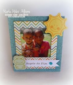 Desde el Taller de Karla: Portarretrato Polaroid