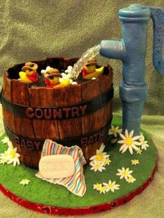 Cute country cake