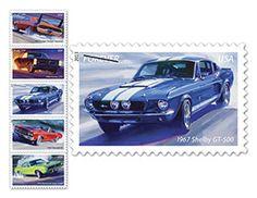 Muscle Car Forever Stamps - USPS