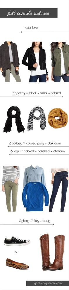 How to Pack for Fall Travel