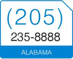 Buy An Alabama AL Local Phone Number That Makes Your Business Stand Out  With A Personalized Vanity Phone Number. We Have Alabama Vanity Numbers  Available In