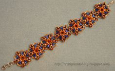 Patchwork Chainmaille bracelet