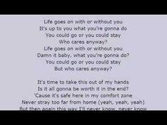 Fergie - Life Goes On Lyrics Video