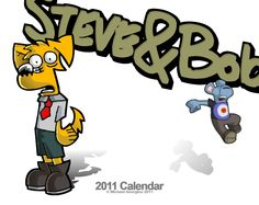 Something unconventional now, I made a Steve and Bob calendar for friends and family one year and this was the minimalist cover. http://www.stevebob.com