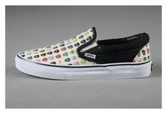 0e50ab8a89 Vans Shoes White Mens Womens Skeletons Slip-On Classic Canvas Sneakers