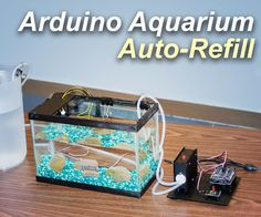 Aquarium Auto Refill With Arduino: 5 Steps (with Pictures) Aquarium Pump, Diy Aquarium, Aquarium Design, Saltwater Aquarium, Aquaponics Diy, Aquaponics System, Diy Electronics, Electronics Projects, Simple Arduino Projects