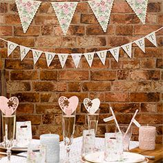 With Love 'Candy Buffet' Bunting - 1 Metre