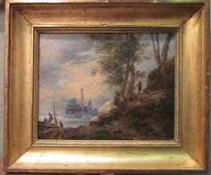 Huile sur toile, fin du XVIIIème siècle, Antiquités Wunschel Hervé, Proantic