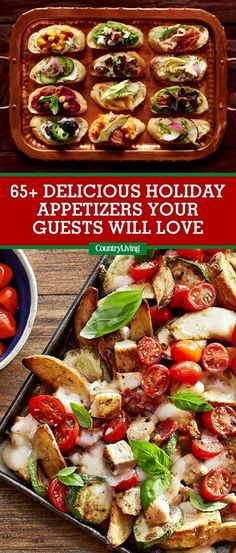 Easy Thanksgiving and Christmas Appetizer Recipes - Best Holiday Appetizer I. Easy Thanksgiving and Christmas Appetizer Recipes – Best Holiday Appetizer Ideas Best Holiday Appetizers, Finger Food Appetizers, Thanksgiving Appetizers, Appetizers For Party, Thanksgiving Recipes, Appetizer Recipes, Holiday Recipes, Appetizer Ideas, Christmas Recipes