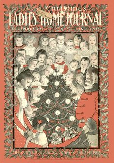December 1900 Christmas Cover for The Ladies Home Journal