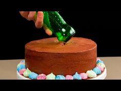 15 trükk az amatőr cukrászok számára| Cookrate - Magyarország - YouTube Mousse, Fudge, Cake Recipes, Cake Decorating, Cheesecake, Birthday Cake, Make It Yourself, Chocolate, Cooking