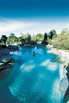 Hanmer Springs Thermal Pools & Spa, South Island, New Zealand