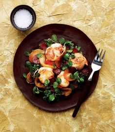 470151-1-eng-GB_warm-salad-of-pear,-scallop-and-chorizo