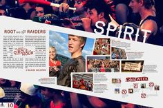 I like the page layout. And with this layout the headline works well. Yearbook Mods, Yearbook Staff, Yearbook Pages, Yearbook Spreads, Yearbook Covers, Yearbook Layouts, Yearbook Design, High School Yearbook, Yearbook Ideas