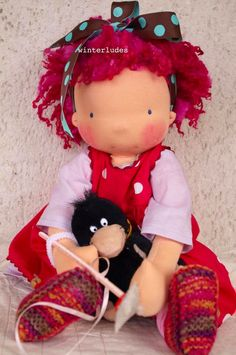 peronnelle! waldorf doll by winterludes
