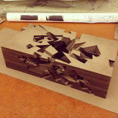 The final model.. . Double negative: #architecture #architorture #studio…